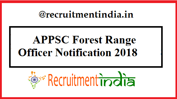 APPSC Forest Range Officer Notification