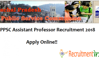 HPPSC Assistant Professor Recruitment