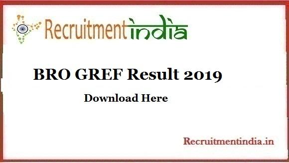 BRO GREF Result