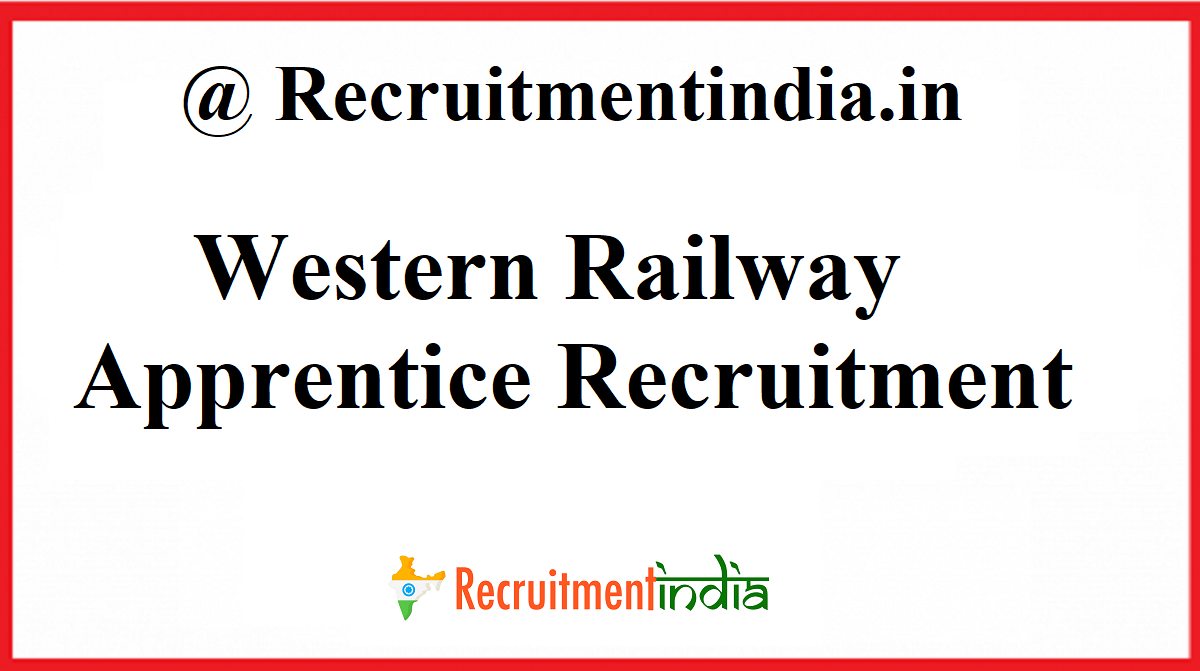Western Railway Apprentice Recruitment