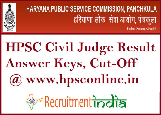 HPSC Civil Judge Result