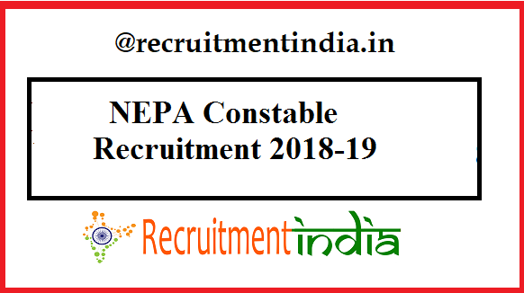 NEPA Constable Recruitment