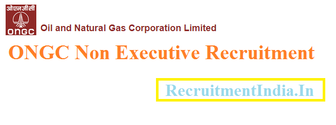 ONGC Non Executive Recruitment