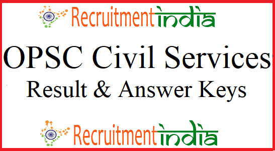 OPSC Civil Services Results