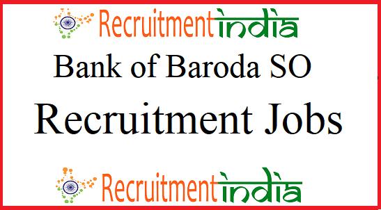 BOB SO Recruitment
