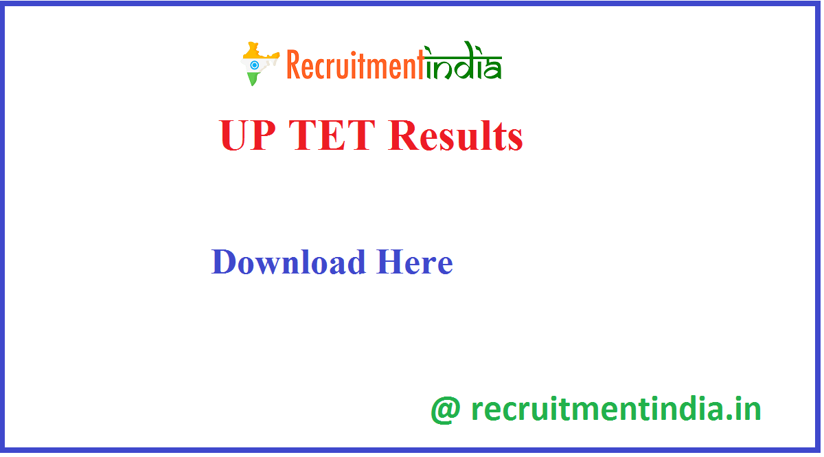 UP TET Results