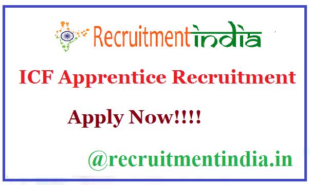ICF Apprentice Recruitment
