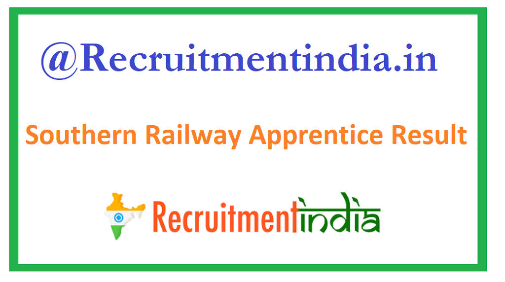 Southern Railway Apprentice Result