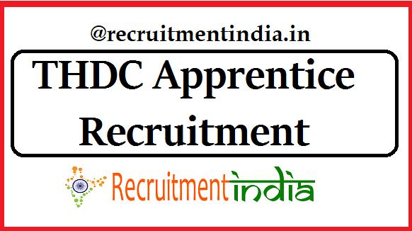 THDC Apprentice Recruitment