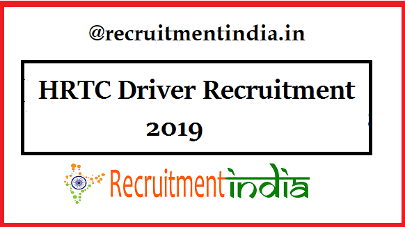 HRTC Driver Recruitment