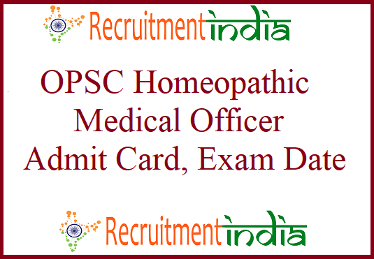 OPSC Homeopathic Medical Officer