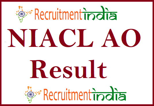 NIACL AO Result