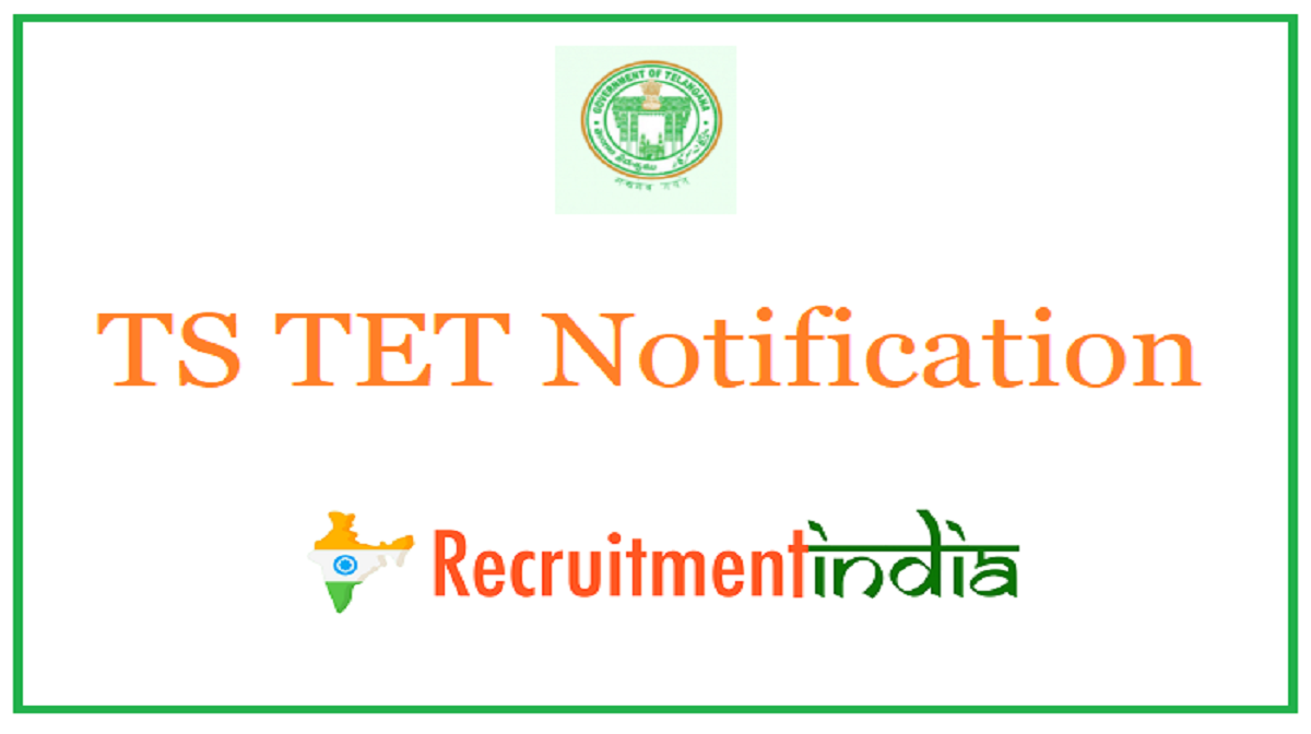 TS TET Notification