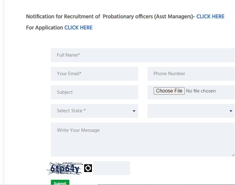 Visakhapatnam Cooperative Bank Application Form