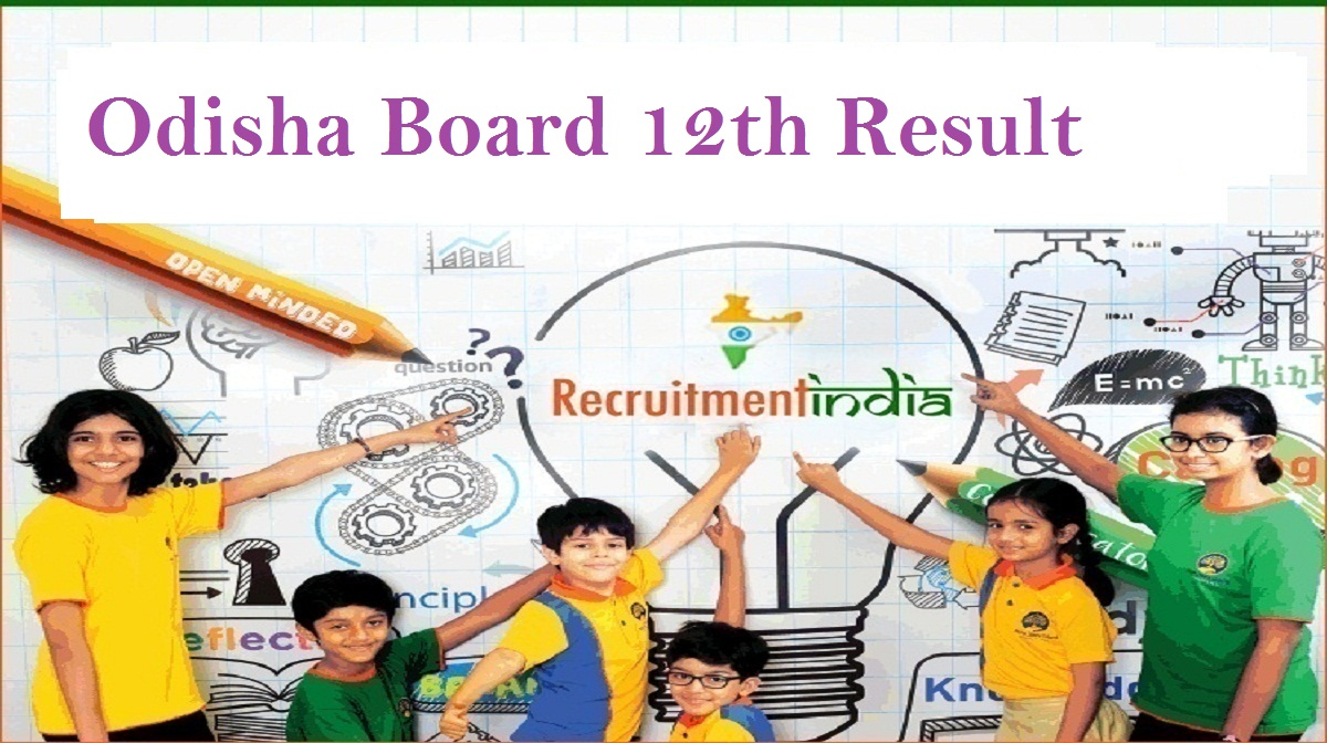 Odisha Board 12th Result