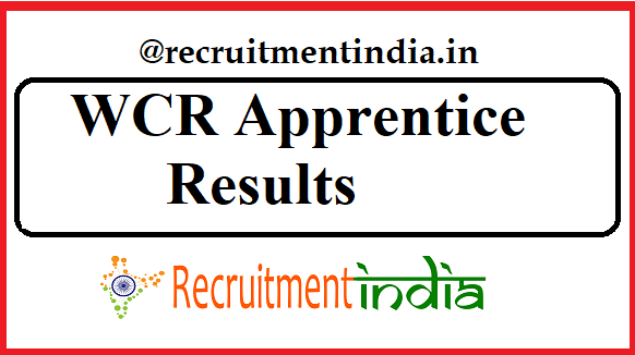 WCR Apprentice Result