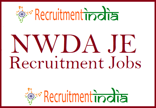 NWDA JE Recruitment