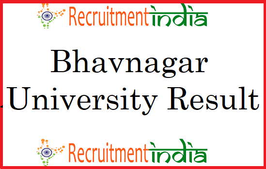 Bhavnagar University Result