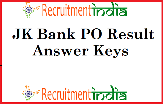 JK Bank PO Result