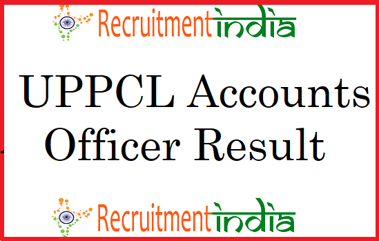 UPPCL Accounts Officer Result