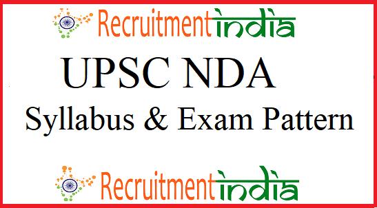 UPSC NDA Syllabus