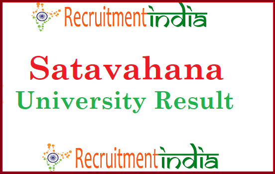 Satavahana University Result
