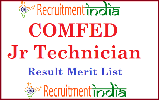 COMFED Junior Technician Result