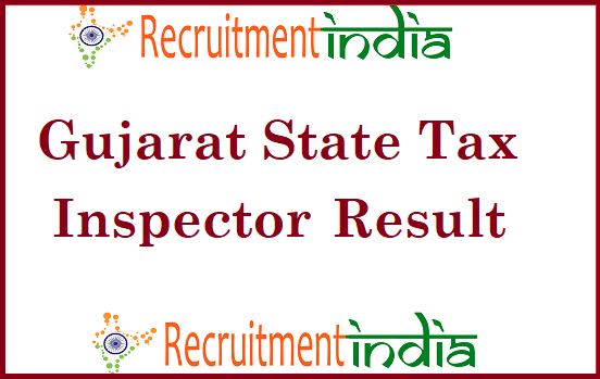 GPSC State Tax Inspector Result