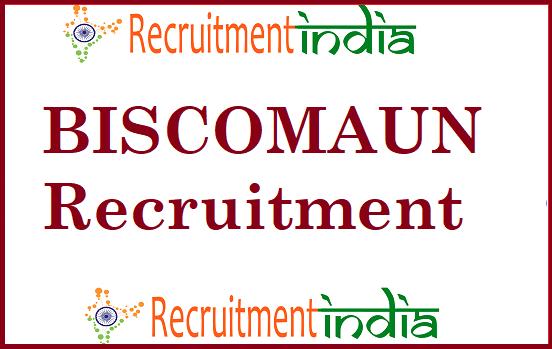 BISCOMAUN MTS Recruitment