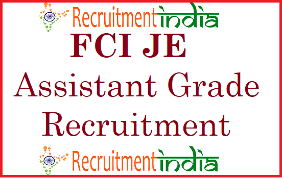 FCI Assistant Grade III Recruitment