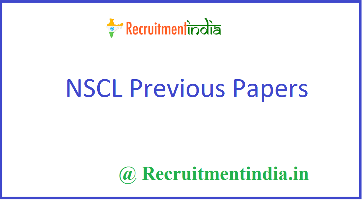 NSCL Previous Papers