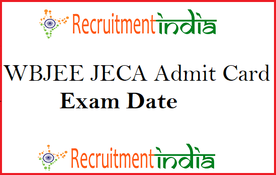 WBJEE JECA Admit Card