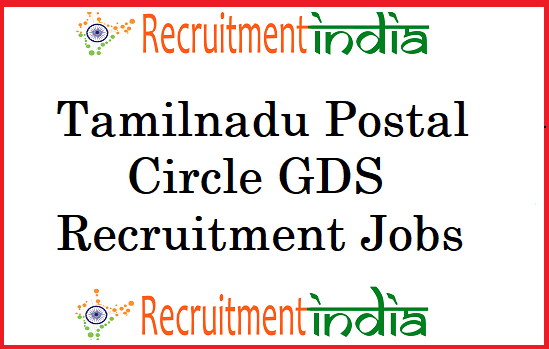 Tamilnadu Postal Circle GDS Recruitment