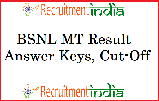 BSNL Management Trainee Result