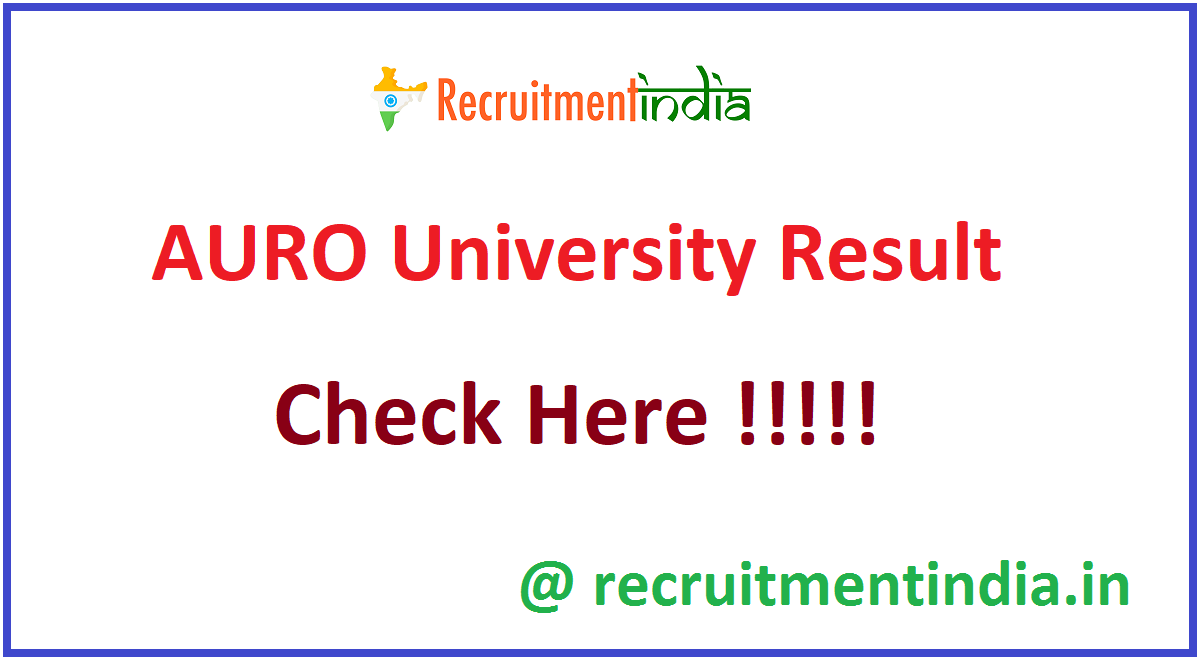 AURO University Result