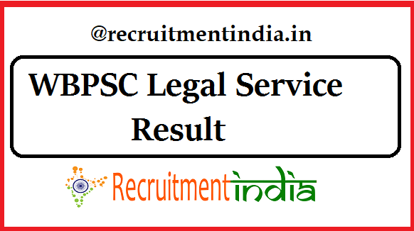 WBPSC Legal Service Result