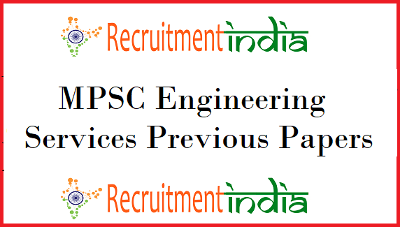 MPSC Engineering Services Previous Papers