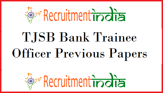 TJSB Bank Trainee Officer Previous Papers