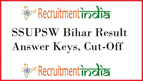 SSUPSW Bihar Result