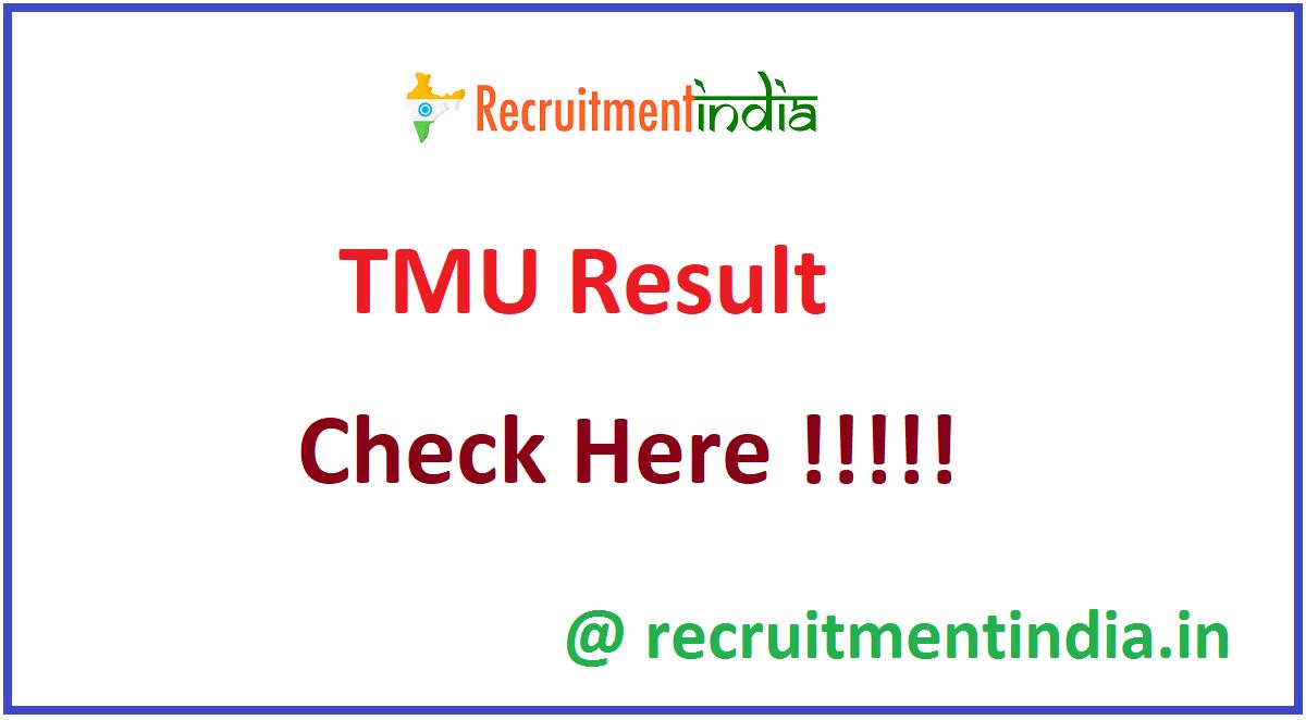 TMU Result