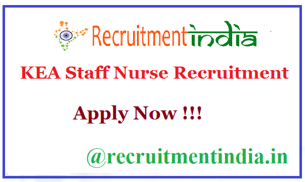 KEA Staff Nurse Recruitment