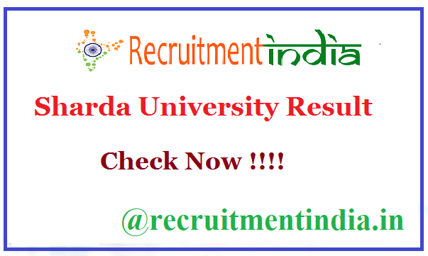 Sharda University Result