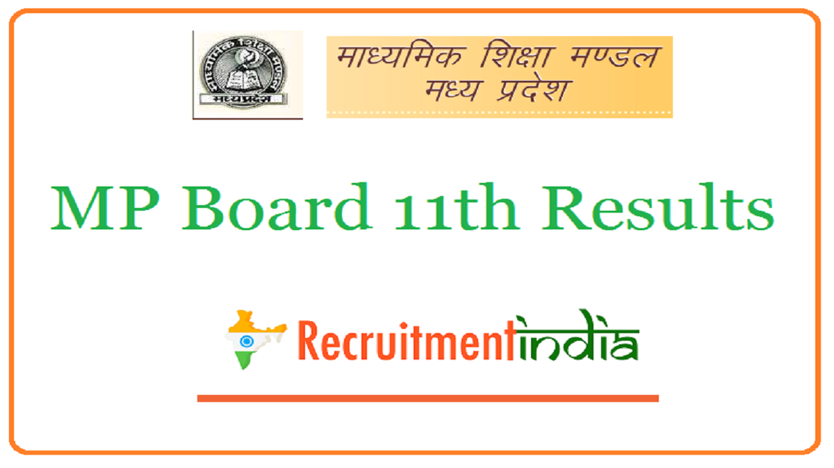 MP Board 11th Results