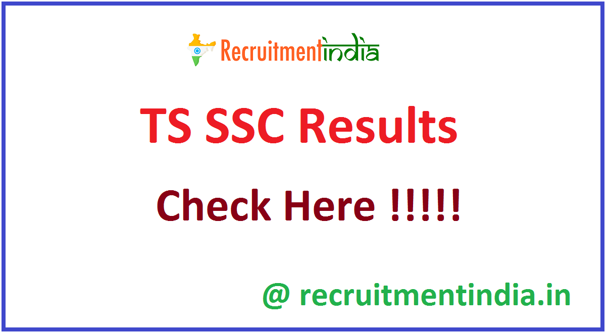TS SSC Results