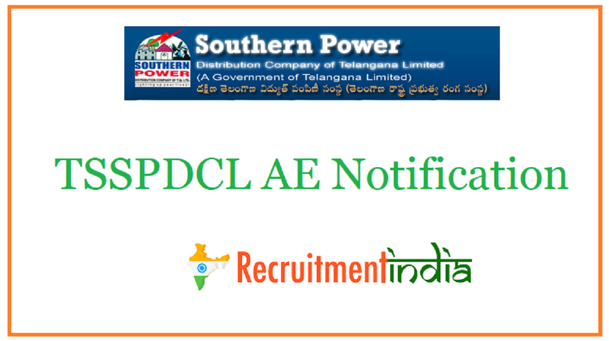 TSSPDCL AE Notification