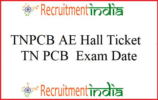 TNPCB AE Hall Ticket