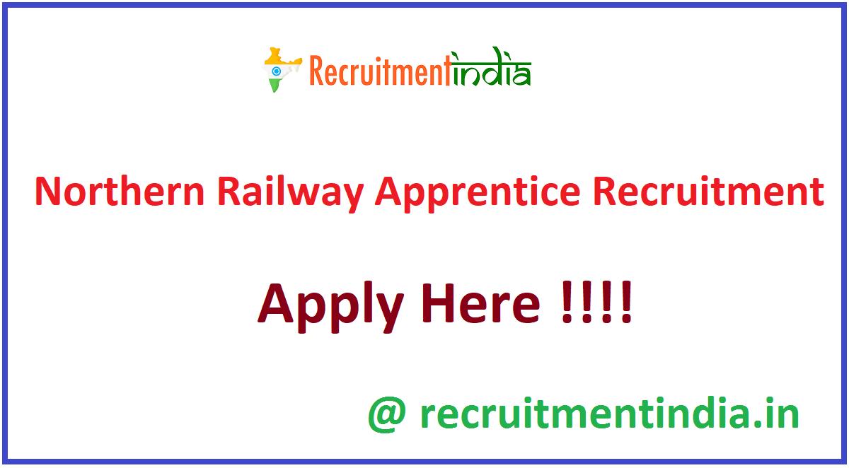 Northern Railway Apprentice Recruitment