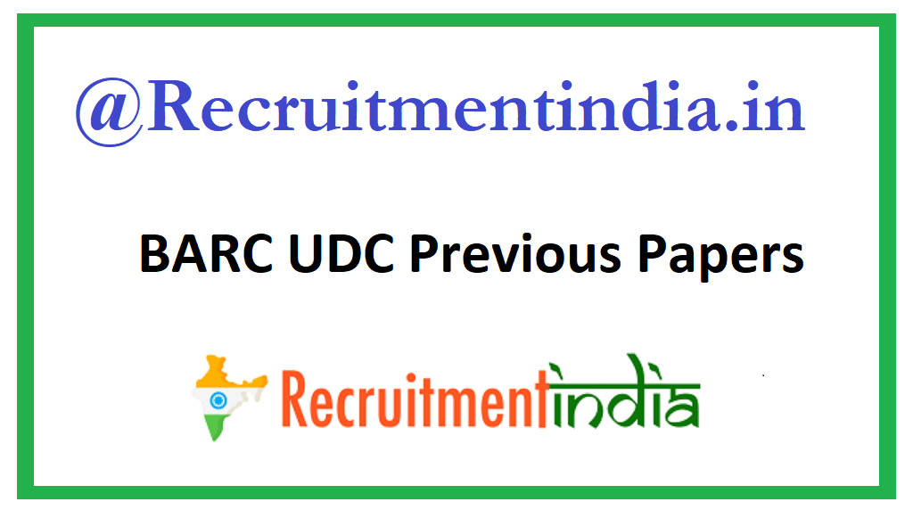 BARC Stenographer Previous Question Papers