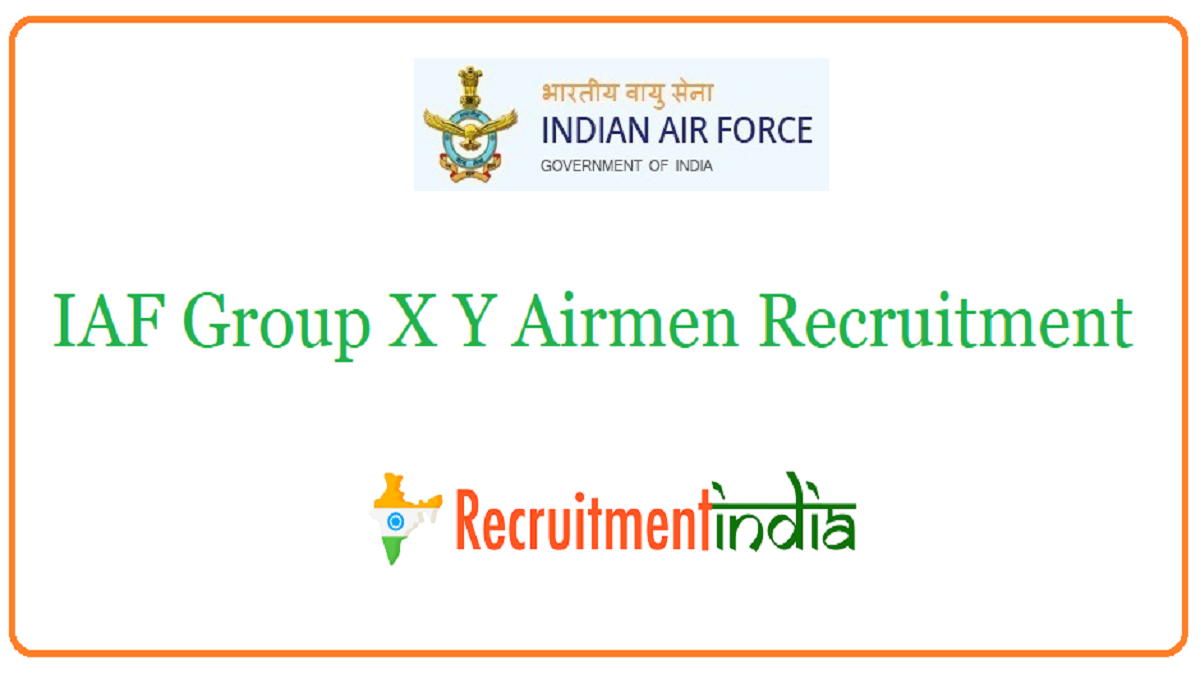 IAF Group X Y Airmen Recruitment