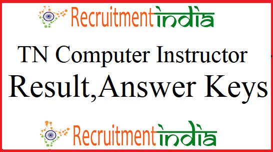 TN TRB Computer Instructor Result